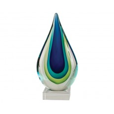 01. Coloured Glass Blue Green Inspire