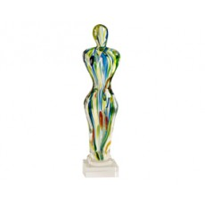 26. Coloured Glass Achievement Figurine