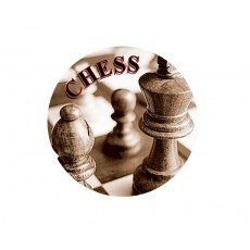 Chess Acrylic Button