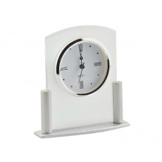 30. Frosted Glass Mantel Clock
