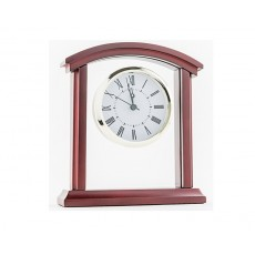 14. Glass & Wooden Clock