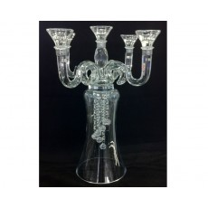 02. Crystal Drop 'Dubai' 5 Arm Candelabra