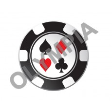 Cards / Poker Acrylic Button