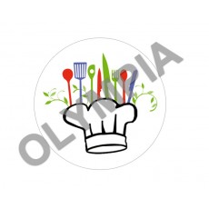 Cooking Acrylic Button