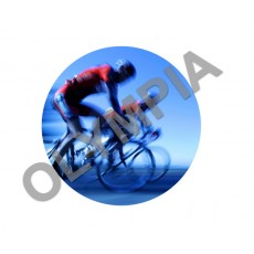 Cycling Acrylic Button