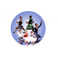 Dance - Highland Acrylic Button