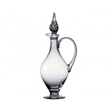 14. Dartington Crystal Handled Claret Decanter