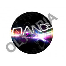 Dance Acrylic Button