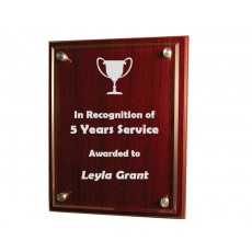 Plaque Engraving - Sample Engraving