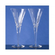 05. Crystal 'Torchlight' Goblet Glasses, Set of 2