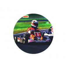 Go Kart Acrylic Button