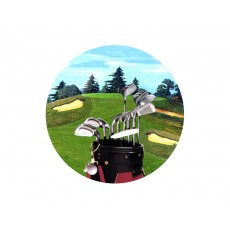 Golf Acrylic Button