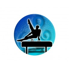 Gymnastics Acrylic Button