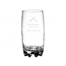 Hi Ball Glass - Sample Laser Etching