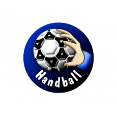 Handball Acrylic Button