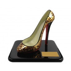 30. The Stiletto Award for Achievement - Cheetah Pattern