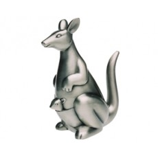 14. Money Bank, Kangaroo, Pewter Finish