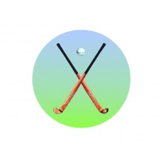 Hockey Acrylic Button