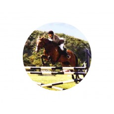 Equestrian Acrylic Button