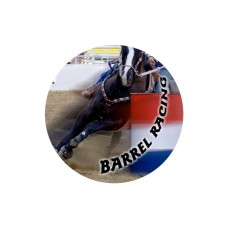 Horse Riding Acrylic Button