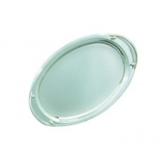 07. Stainless Steel Oval Tray with Handles