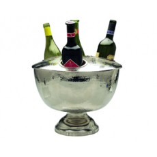 01. 4 Bottle Wine Cooler with lid, Hammered
