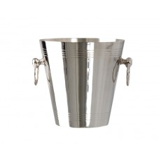 05. Nickel Plated 'Manhattan' Wine Cooler, 200mm