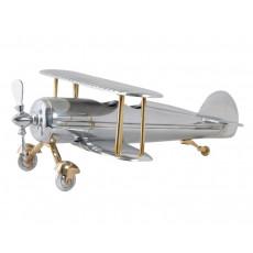 02. Aluminium Bi Plane Sculpture