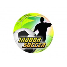Indoor Soccer Acrylic Button