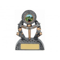 63. Golf - Hole in One Resin Trophy
