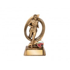 Track Fusion Series Male Resin Trophy