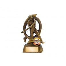 Baseball Fusion Male Resin Trophy