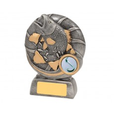 Bursting Fish Resin Trophy