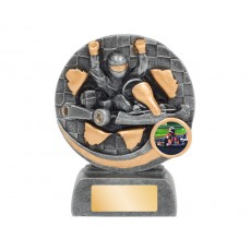 Bursting Go Kart Resin Trophy
