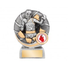 Boxing Bursting Resin Trophy