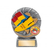 16. Medium Surf Life Saving 'Dynamite' Series Resin Trophy