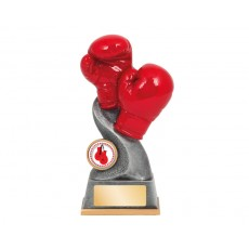 'Infinity' Boxing Gloves Resin Trophy