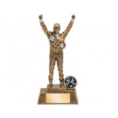 49. Large Motorsport Silver Male Resin Trophy