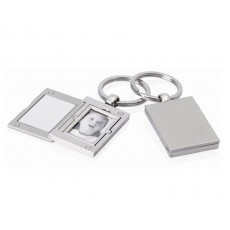 Silver Keyholder with Photo Frame