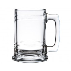 "16. Libbey ""Maritime"" Glass Beer Mug"