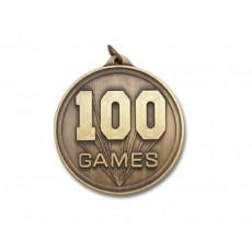 01. 100 Games Medal