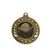 15. Basketball Galaxy Medal