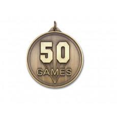 02. 50 Games Medal