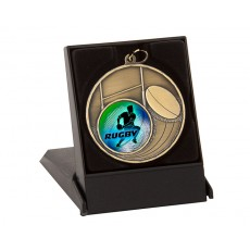 50mm Medal Case - Black Lid