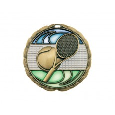 09. Stained Glass Tennis Medal