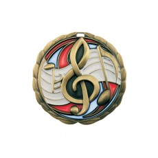 04. Stained Glass Music Medal