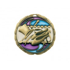 10. Stained Glass Dance Medal