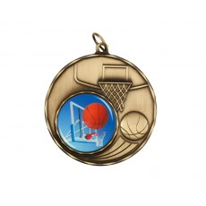 06. Gold Basketball Medal
