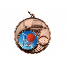 08. Bronze Basketball Medal