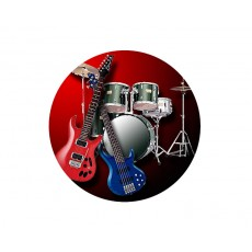 Music Acrylic Button